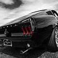 Black 1967 Mustang by Gill Billington