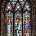 Black Abbey Window - Kilkenny - Ireland by Tony Crehan