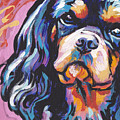 Black And Tan Cav by Lea S
