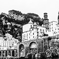Black And White Amalfi by Lisa Lemmons-Powers