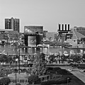 Black And White Baltimore by Frozen in Time Fine Art Photography