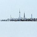 Black And White City by Jack Diamond