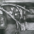 Black And White Composition II by Aleksandra Buha