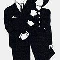 Black And White Couple by Mel Thompson