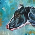 Black And White Cow by Susan Goh