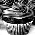 Black And White Cupcakes by Stephanie Campbell
