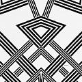 Black And White Diamond by Rafael Salazar