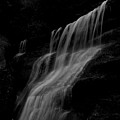 Black And White Hidden Falls by Dan Sproul