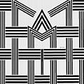 Black And White M by Rafael Salazar