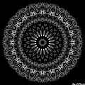 Black And White Mandala No. 2 by Joy McKenzie