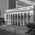 Black And White Of The Tennessee Supreme Court Building In Nashville Tennessee by Jeremy Holmes