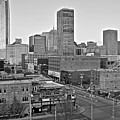 Black And White Okc  by Frozen in Time Fine Art Photography