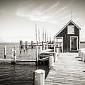 Black And White Photography - Martha's Vineyard - Black Dog Wharf by Alexander Voss
