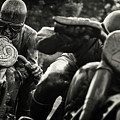 Black And White Photography - Motorcyclists by Alexander Voss