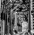Black And White Railroad by Jordan Erhardt