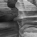 Black And White Sandstone Art by Ben Adkison
