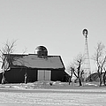 Black And White Winter by Bonfire Photography
