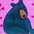 Black Bear by Sue Gurland