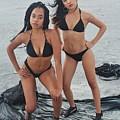 Black Bikinis 4 by Christopher White