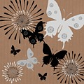 Black Butterflies by Sharon Johnston
