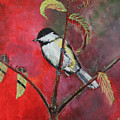Black Capped Chickadee by Laura Wilson