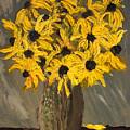 Black-eyed Susans by Francois Lamothe