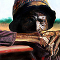 Black Farmer by John Lautermilch