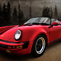 Black Forest - Red Speedster by Douglas Pittman