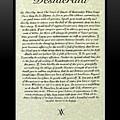 Black Framed Original Desiderata Poster by Desiderata Gallery