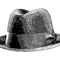Black Hat T-shirt by Edward Fielding