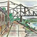 Black Hawk Bridge by Matt Gaudian