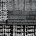 Black Lives Matter Wall Part 2 Of 9 by Walter Neal