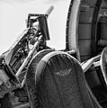 Black Machine Gun Wwii by Chuck Kuhn