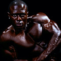 Black Male Fitness Model by Val Black Russian Tourchin