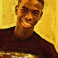 Young Black Male Teen 2 by Ginger Wakem