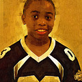 Young Black Male Teen 6 by Ginger Wakem