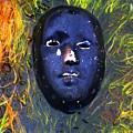 Black Mask by Darryl  Kravitz