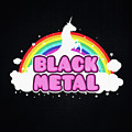 BLACK METAL Funny Unicorn / Rainbow Mosh Parody Design by Philipp Rietz