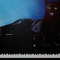 Black Panther And His Piano by Manuel Sanchez