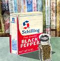 Black Pepper by Arline Wagner