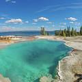 Black Pool, Yellowstone by Megan Martens