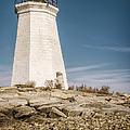 Black Rock Harbor Lighthouse II by Joan Carroll