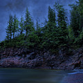 Black Rocks, Dark Sky by Kendall Tabor