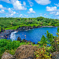 Black Sand Beach - Maui Hi by New Heights Aerial Photography