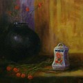 Black Vase by Tom Forgione