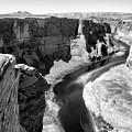 Black White Colorado River  by Chuck Kuhn