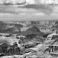 Black White Filter Grand Canyon  by Chuck Kuhn