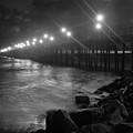 Black White Pier by Kelly Wade