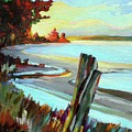 Blackie Spit Meets Mud Bay by Catherine Robertson