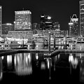 Blackness In The Harbor by Frozen in Time Fine Art Photography